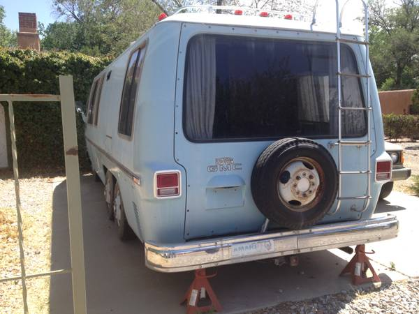 1973 GMC Motorhome For Sale in North Valley, Albuquerque ...