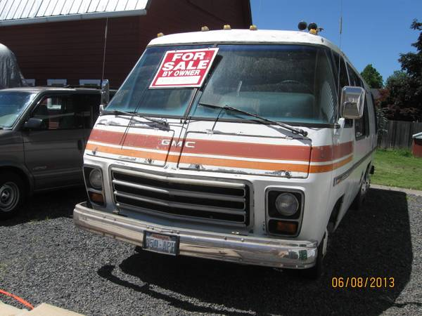 1973 Gmc 26ft Motorhome For Sale In Forest Grove Oregon