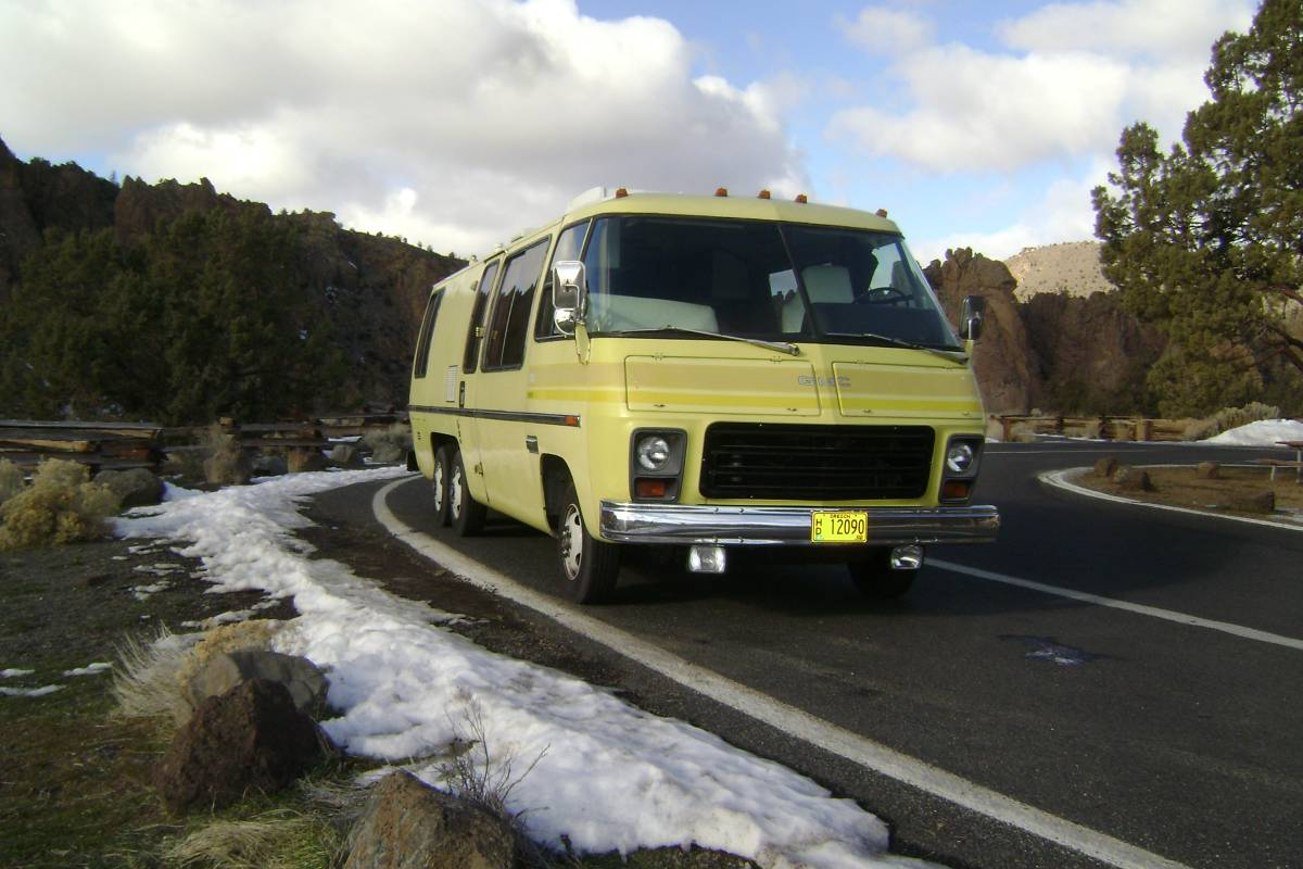 1973 Classic Canyonlands 26ft Gmc Motorhome For Sale In