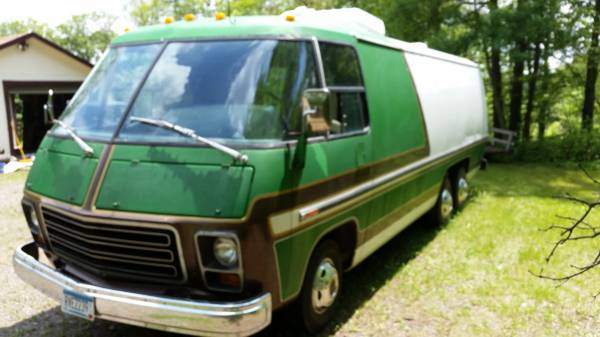 1975 GMC Transmode Motorhome For Sale In Minneapolis