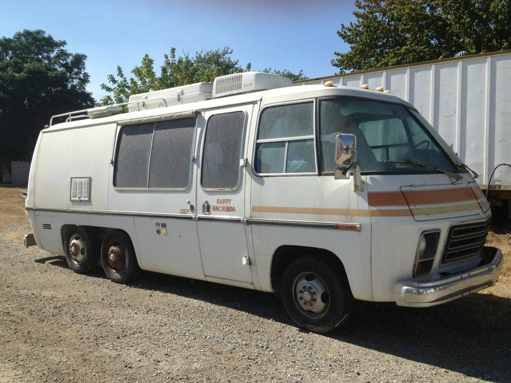 1976 gmc 23ft classic motorhome for sale beaumont california. Black Bedroom Furniture Sets. Home Design Ideas