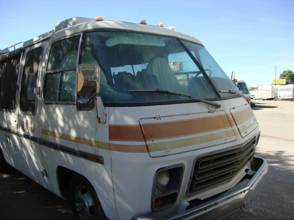 1976 Gmc 23ft Classic Motorhome For Sale Beaumont California