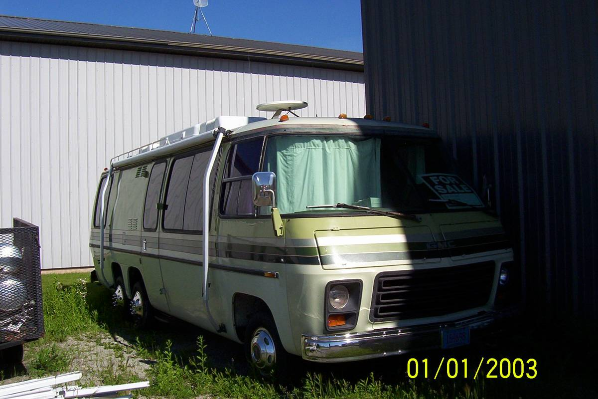1978 GMC Palm Beach 26FT Motorhome For Sale in Suamico ...