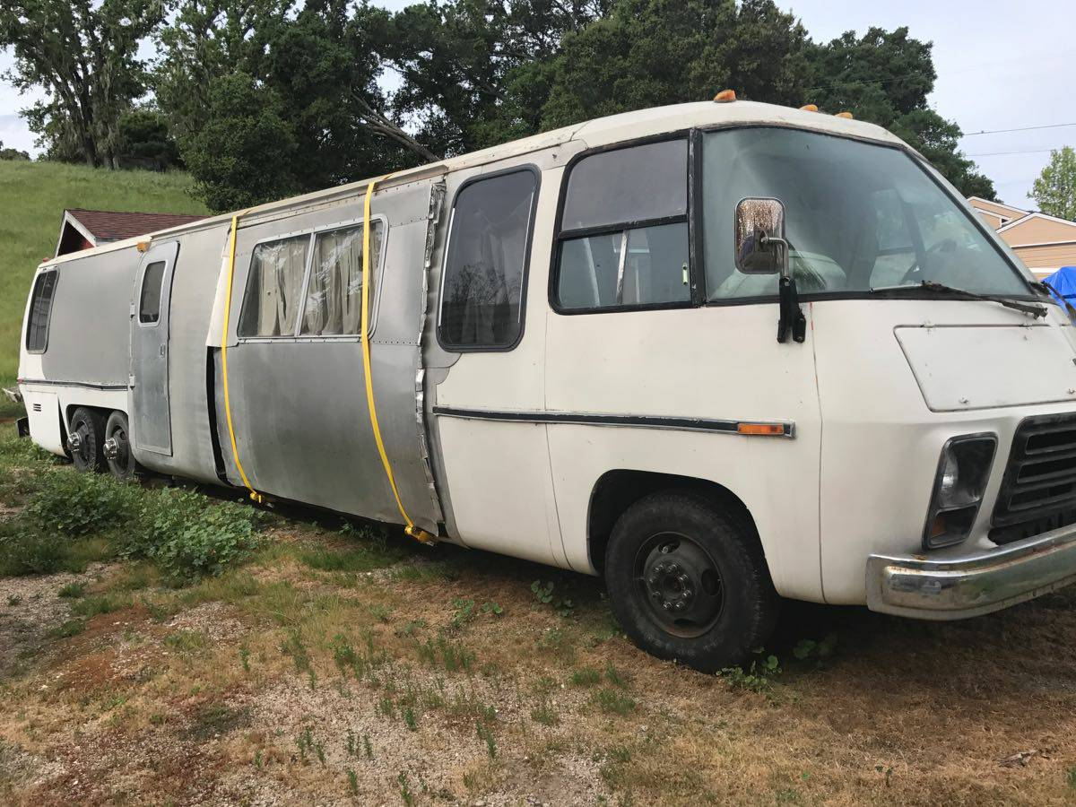 Stretched 1978 GMC Motorhome Project For Sale in ...