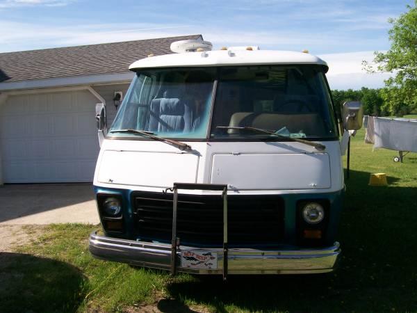1975 Gmc Motorhome 455 Engine For Sale In Northern Michigan
