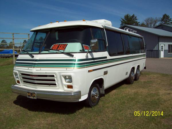 1976 Classic Gmc 455 Olds Motorhome For Sale In Iron