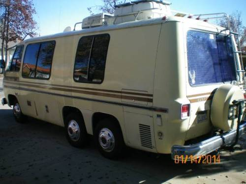 1976 gmc motorhome for sale in upland inland empire california. Black Bedroom Furniture Sets. Home Design Ideas