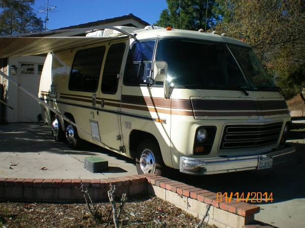 1976 Gmc Motorhome For Sale In Upland Inland Empire