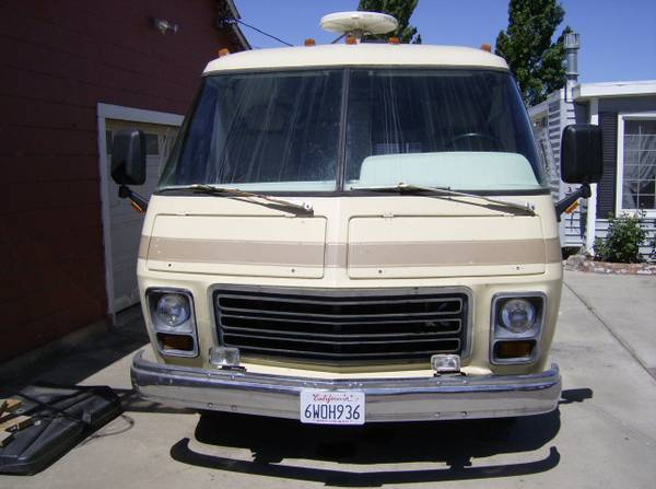1977 Gmc 26 Ft Motorhome 455 Engine For Sale In Morro Bay