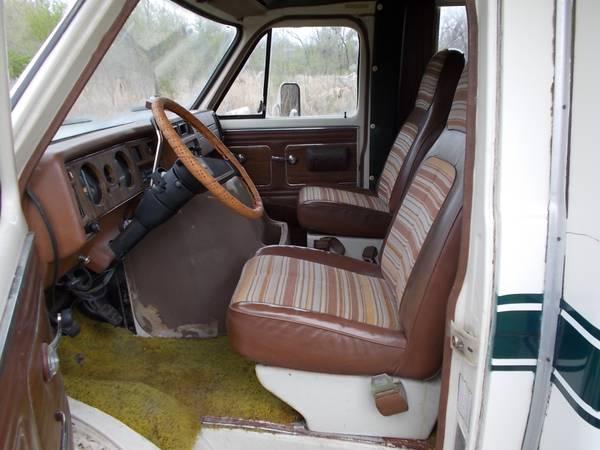 1976 GMC MIDAS RV 24FT Motorhome For Sale in Edwardsville, Illinois