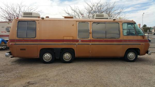 1973 Gmc 26ft Motorhome For Sale In Albuquerque New Mexico