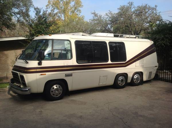 1977 Gmc 23ft Motorhome For Sale In Blanco Texas