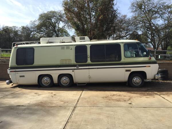 1978 GMC Automatic Motorhome For Sale in Kalispell, Montana