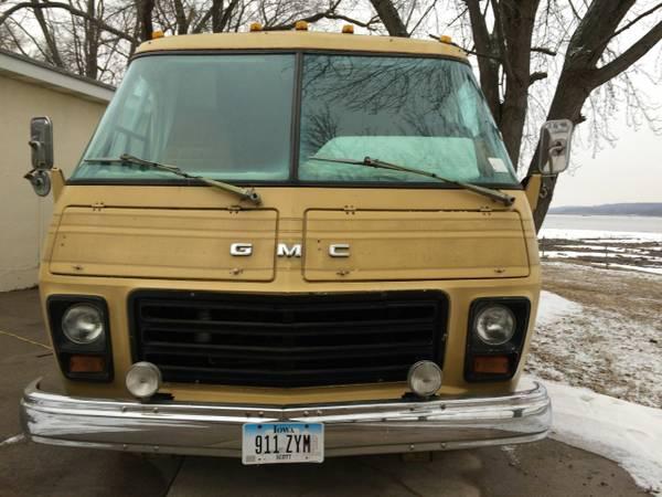 1974 Gmc Eleganza Motorhome For Sale In Riverdale Iowa