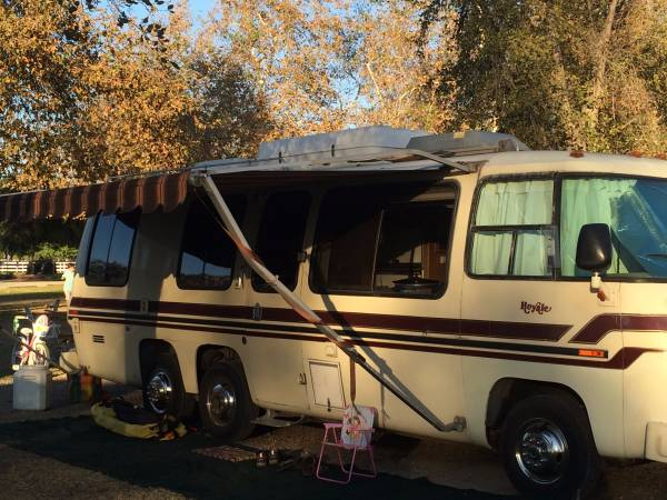 Rv Trader Online >> 1976 GMC Royale 26FT Motorhome For Sale in Corona, California