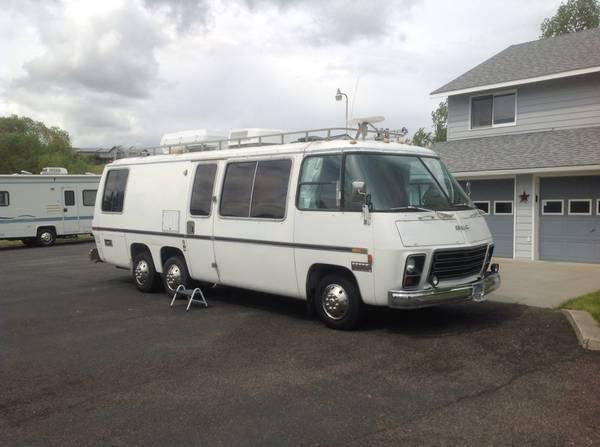 1973 Gmc Glacier 26ft Motorhome For Sale In Missoula Montana