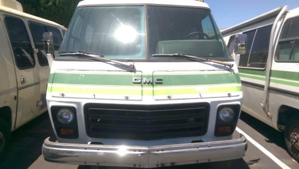1973 GMC 26FT Motorhome For Sale in Santa Ana, California