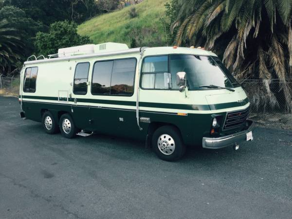 1976 gmc palm beach 26ft motorhome for sale in sacramento california. Black Bedroom Furniture Sets. Home Design Ideas