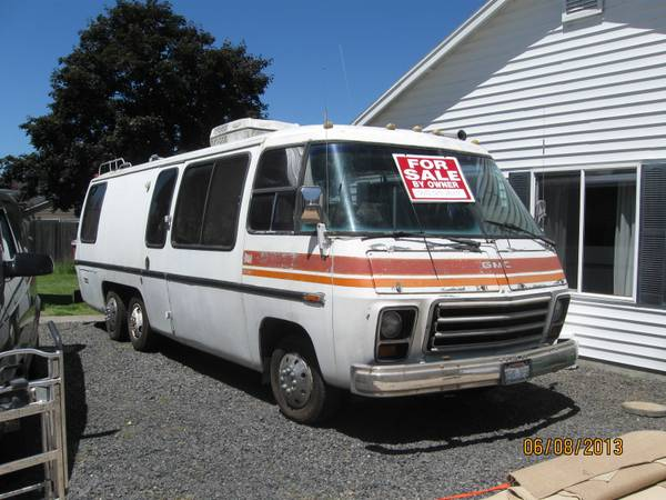 1973 GMC Glacier 26FT Motorhome For Sale in Los Angeles ...