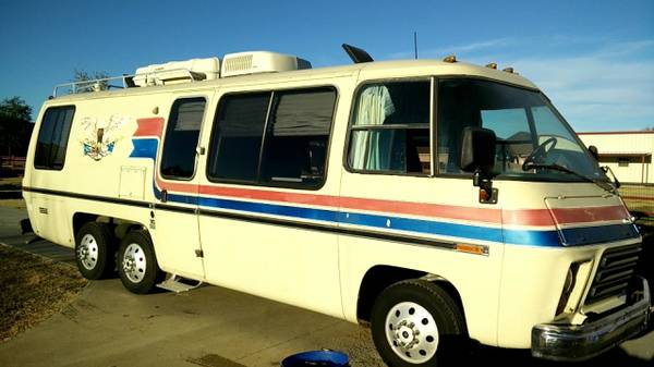 1975 Gmc Motorhome For Sale In Burleson Texas