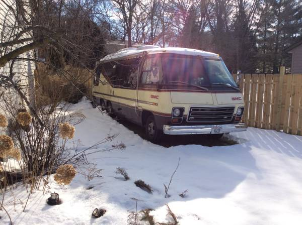 1976 GMC Royale Automatic Motorhome For Sale in Fremont, CA