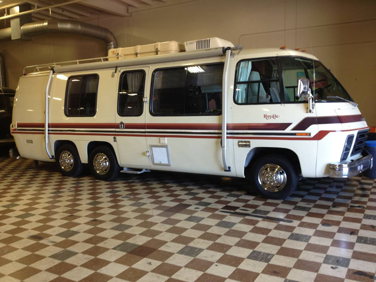 Gmc Motorhome For Sale >> 1978 Gmc Royale 26ft Motorhome For Sale In Ventura County California