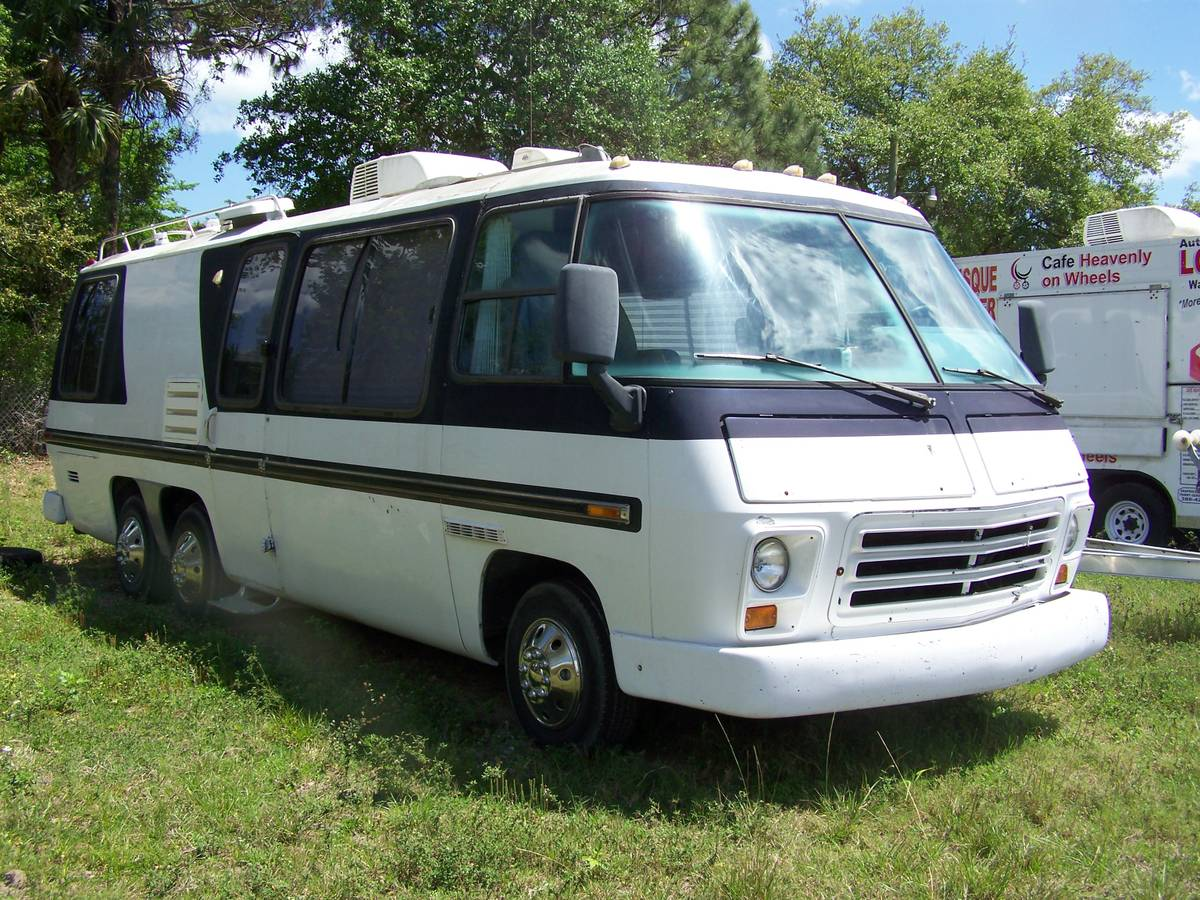 Gmc Motorhome Parts >> 1973 GMC 26 Foot Motorhome For Sale in Edgewater, Florida