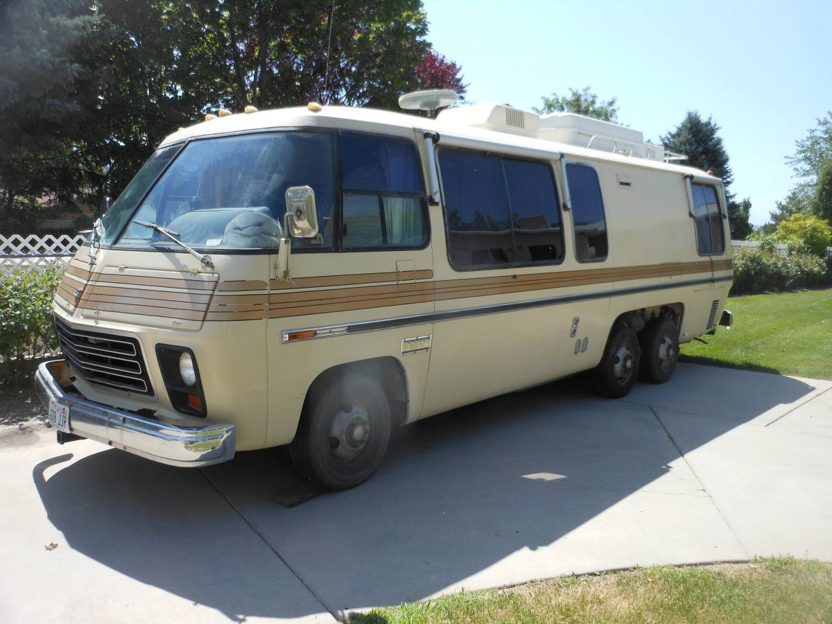 1975 GMC Eleganza ll 26FT Motorhome For Sale in South ...