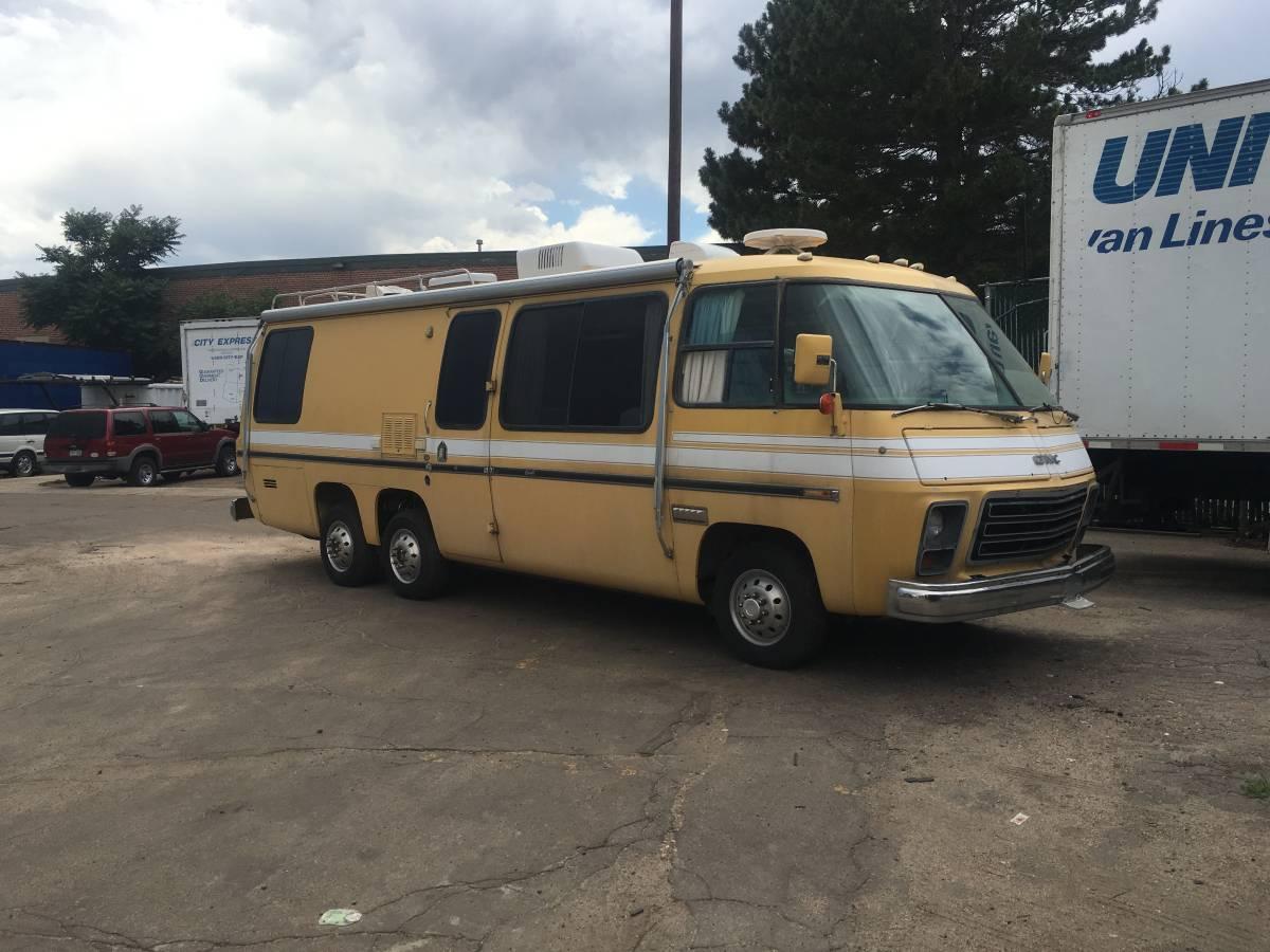 1975 GMC Glenbrook 26FT Motorhome For Sale in Denver, Colorado