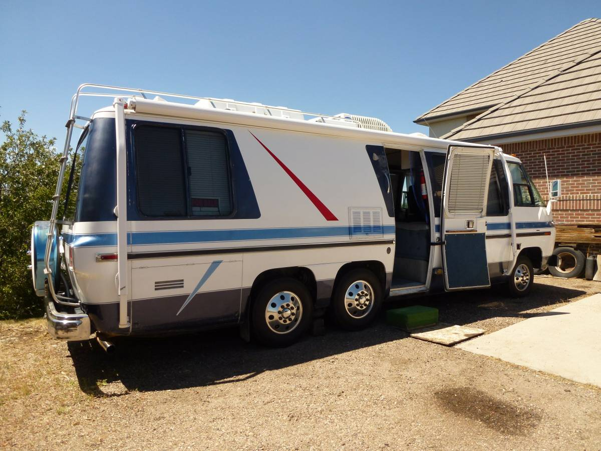 1976 gmc glenbrook motorhome for sale in castle rock colorado. Black Bedroom Furniture Sets. Home Design Ideas