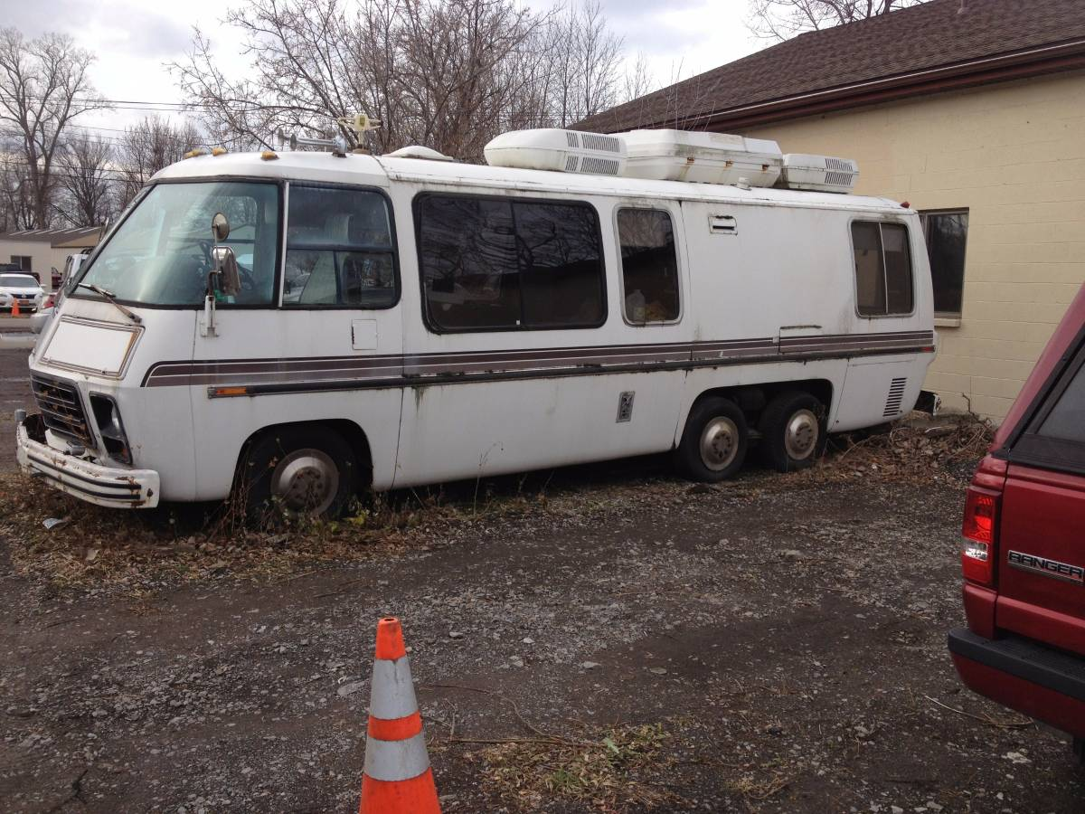 Craigslist Houston Tx Gmc Parts For Pinterest: 1973 GMC Automatic Motorhome For Sale In Tonawanda, New York