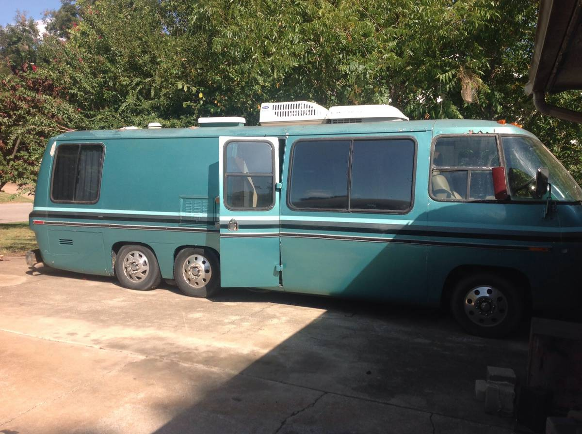 1976 gmc 500cid automatic motorhome for sale in tulsa oklahoma. Black Bedroom Furniture Sets. Home Design Ideas