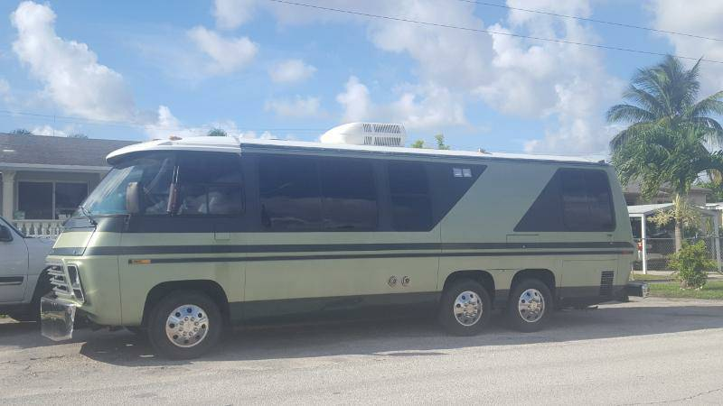 Craigslist Houston Tx Gmc Parts For Pinterest: 1978 GMC V8 Automatic Motorhome For Sale In Hialeah, Florida