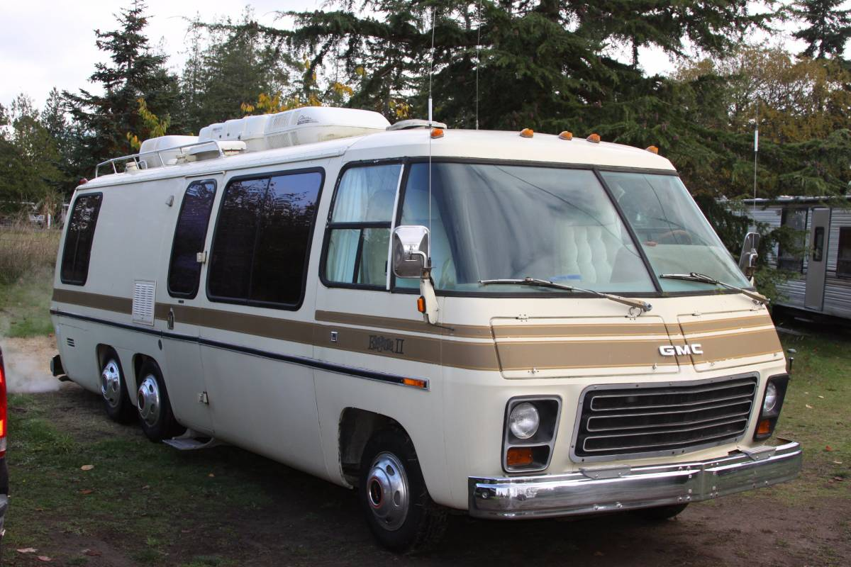Craigslist Houston Tx Gmc Parts For Pinterest: 1977 Collector's GMC Eleganza II Motorhome For Sale Port