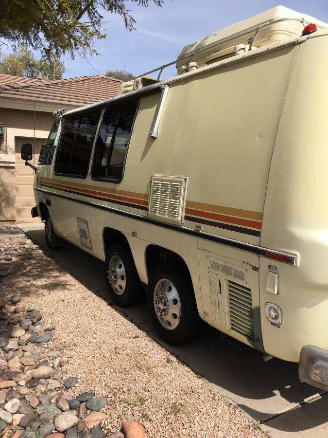 1976 GMC Birchaven 23FT V8 Auto Motorhome For Sale in Mesa ...