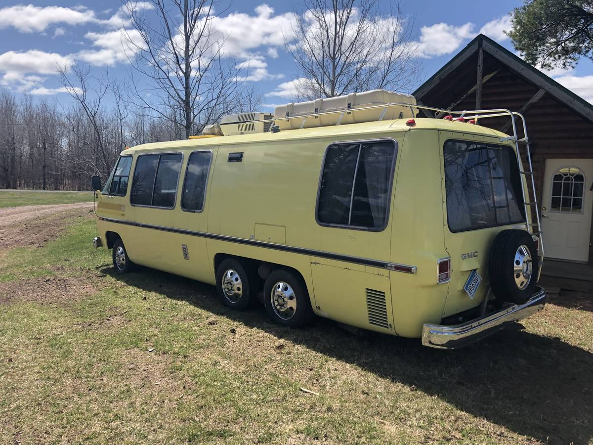 1973 GMC V8 Automatic 26FT Motorhome For Sale in Superior ...