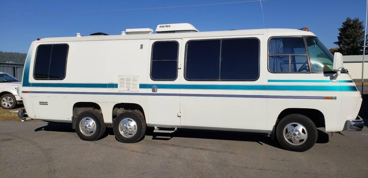 1977 GMC Kingsley 26FT Motorhome For Sale in Spokane ...