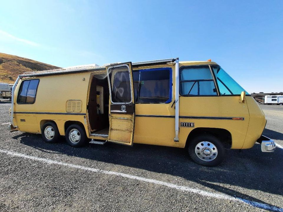 1976 GMC Glenbrook 26FT Motorhome For Sale in Pullman ...